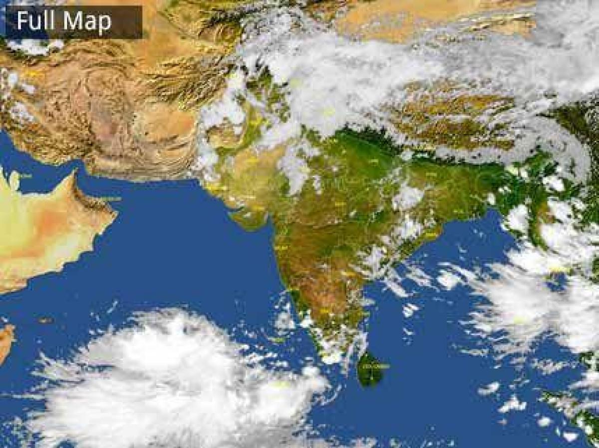 India Harta Satelit Vreme Vreme India Harta Satelit Asia De Sud